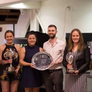 Presentation Night 2018 - Kate Bond, Emily Turnbull, Teresa D'Angelo, Josh Rogerson, Samantha Greene & Tom Mooney