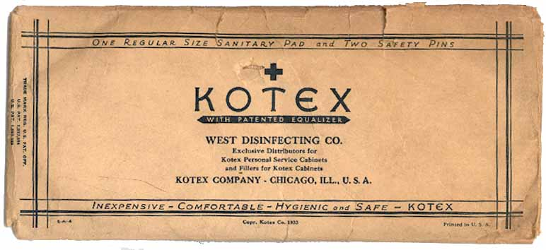 Kotex- distributed by CN West