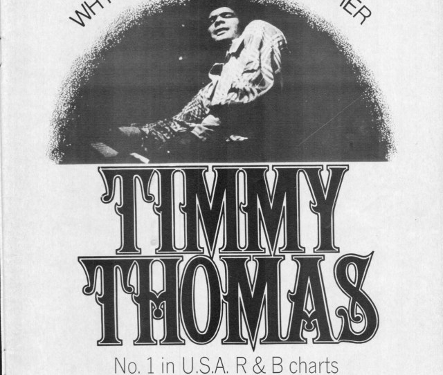 Timmy Thomas Why Cant We Live Together
