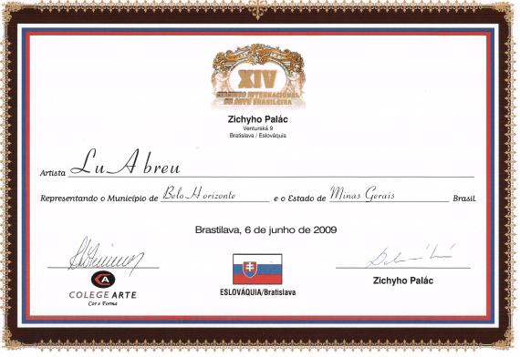 XIV Circuito Internacional de Arte Brasileño - Eslovásquia / Bratislava