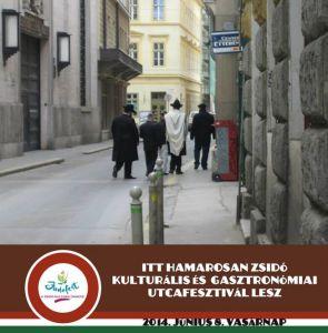 Judafest hetedszer – Magyarország legnagyobb közösségi fesztiválja a Kazinczy utcában