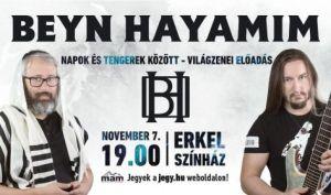 Beyn Hayamim: Napok és tengerek között – világzenei előadás