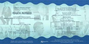 Hajós Alfréd sírkő felújításának megemlékezése