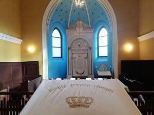 Jom Kippur v Komárne/Komáromban