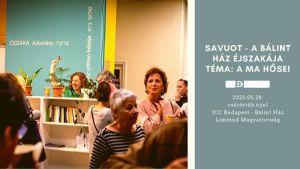 Savuot2020 – A Bálint Ház Éjszakája