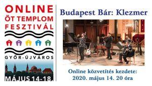 Budapest Bár: Klezmer koncert Mező Misivel