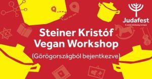 Steiner Kristóf Vegan Workshop a Judafesten