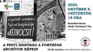 A pesti zsidóság a Fortepan archívum képein – Török András előadása