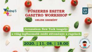Fűszeres Eszter gasztro workshop – Jeruzsálem New York tengely – A rugelach