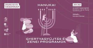 Hanuka Kardos Dániellel – Gyertyagyújtás és Lakáskoncert