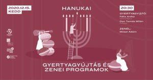 Hanuka Móser Ádámmal – Gyertyagyújtás és Lakáskoncert