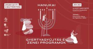 Hanuka –Polnauer & Ágoston – Gyertyagyújtás és Lakáskoncert