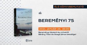 Bereményi 75 / Online beszélgetés Bereményi Géza életművéről és pályájáról