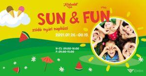 SUN&FUN – Nyári napközi