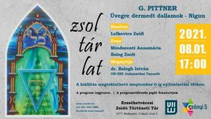Üvegre dermedt dallamok – Nigun – G. Pittner kiállítása