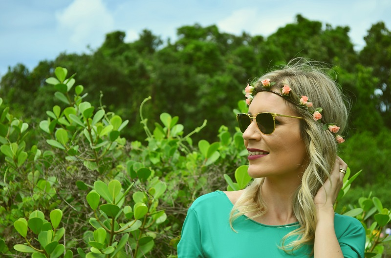 look do dia saia floral - luana viana 10
