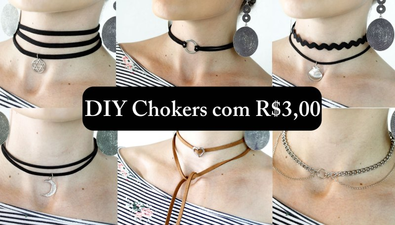 diy 6 chokers