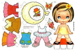 bonecas de papel 2 300x209 - Brincando com bonecas de papel