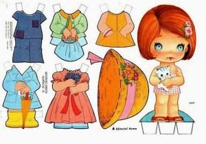 bonecas de papel 9 300x209 - Brincando com bonecas de papel
