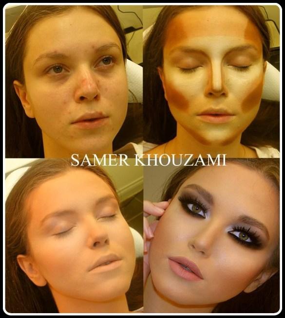 maquiagem antes e depois - COMO FAZER A MAQUIAGEM DE ACORDO COM O SEU ROSTO