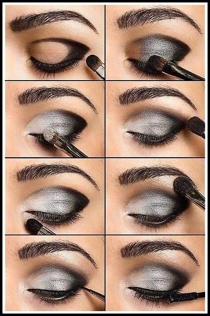 maquiagem10 - PASSO A PASSO DE  MAQUIAGENS VARIADAS PARA AS FESTAS DE FINAL DE ANO