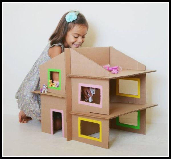 casinha-infantil-de-papelão