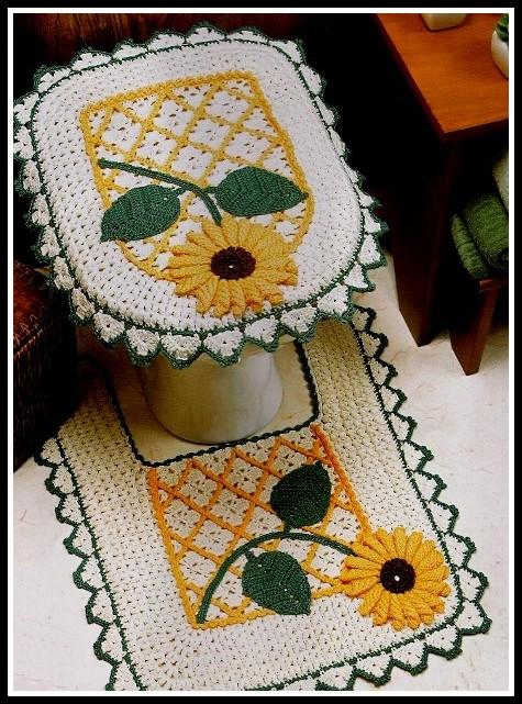 tapete-banheiro-girassol