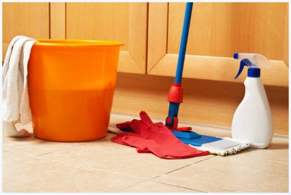 limpando-o-chão