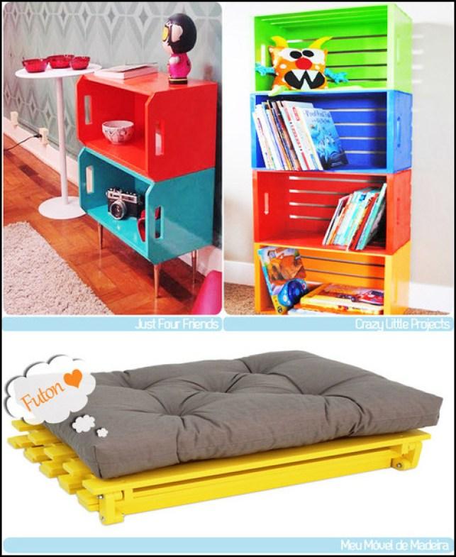 decorar com pallets casasetc.blogspot.com .com  - COMO DECORAR SUA CASA GASTANDO POUCO COM PALLETS E CAIXOTES