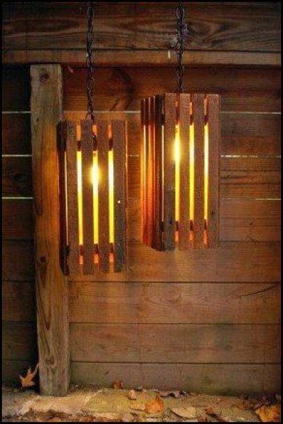 luminarias de caixotes etsy.com .com 002 - COMO DECORAR SUA CASA GASTANDO POUCO COM PALLETS E CAIXOTES