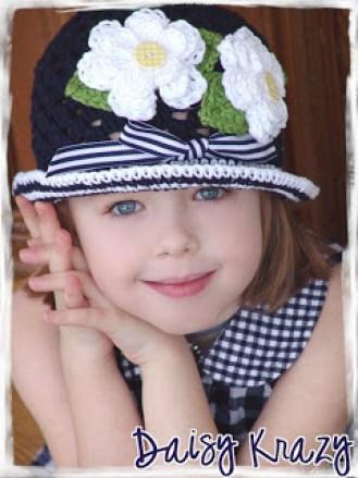 chapéu de crochê 001 - LINDOS MODELOS DE CHAPÉUS DE CROCHÊS INFANTIS