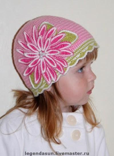 chapéu de crochê 005 - LINDOS MODELOS DE CHAPÉUS DE CROCHÊS INFANTIS