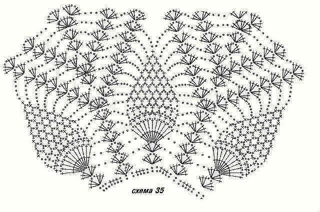 grafico curto2 - TRÊS VESTIDOS DE CROCHÊ COM GRÁFICOS