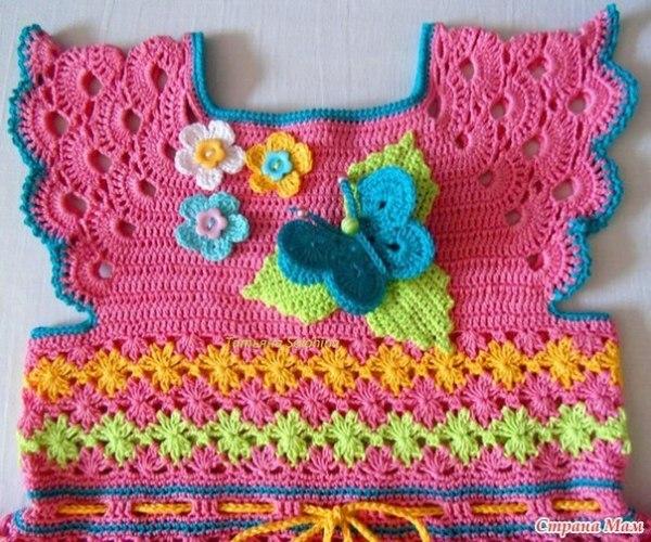 vestido infantil colorido1