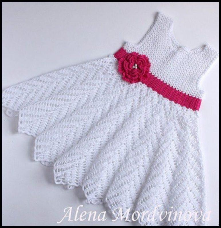 vestidos a crochet para menina - VESTIDOS INFANTIS DE CROCHÊ COM GRÁFICOS
