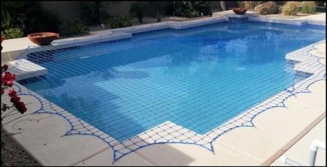 piscina com rede de seguranca instalada - DICAS DE SEGURANÇA PARA A PREVENÇÃO DE ACIDENTES COM AS CRIANÇAS