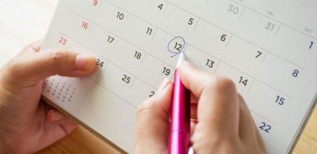 calendario 1024x499 - Voltas às aulas: Dicas de como voltar para a rotina escolar