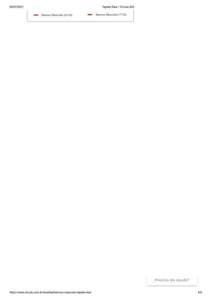 receita do tapete de sobras de linha 4 724x1024 - CROCHÊ COM GRÁFICO E RECEITA:LINDO TAPETE COM SOBRAS DE LINHA