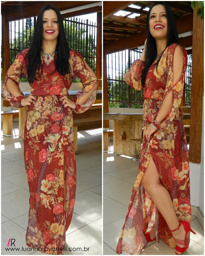 look dress pkd floral