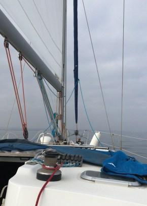 Navegando hacia San Pedro