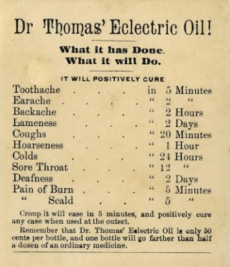 lbb thomas electric oil
