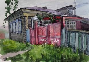 "серия ""Переславль - Залесский"" бум. акв. 21х30 2013г."