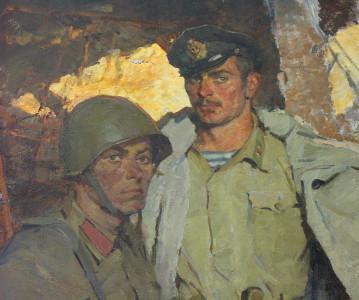 Выставка студии военных художников им.М.Б.Грекова