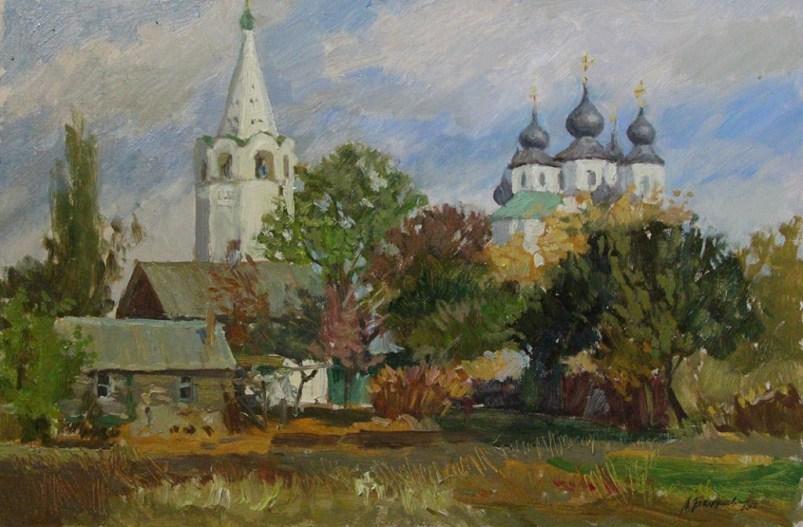«Вид на Собор» холст, масло 40х60 Цена: 9000 руб.