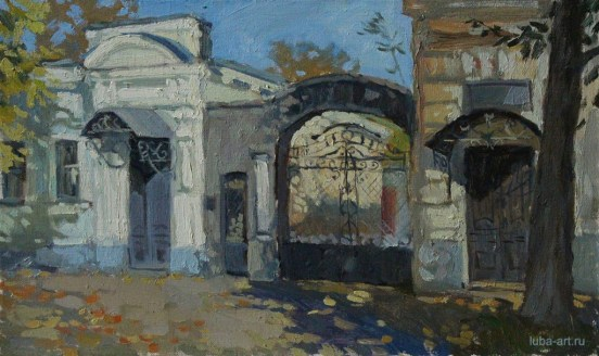 «Музей И.Д. Василенко» холст, масло 30х50 Цена: 7000 руб.