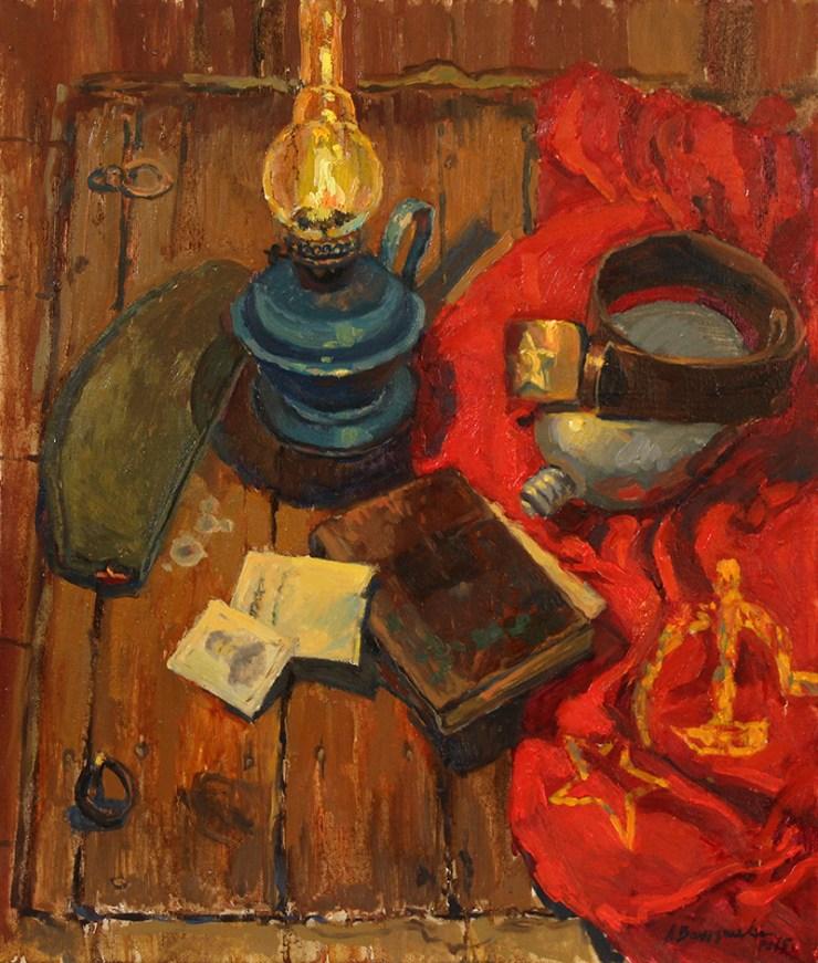 «Память войны» холст, масло 50х60 Цена: 10 000 руб.