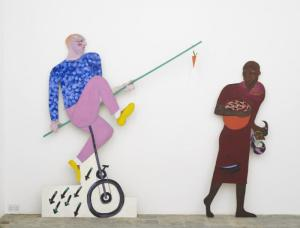 Carrot Piece by Lubaina Himid