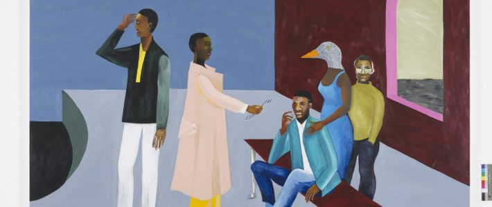 Political Activism in Paint: An Interview with Lubaina Himid