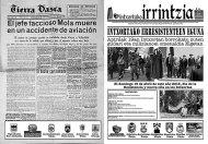 """Periódico """"Intxortako erresistenteen eguna"""" 2015 - exterior"""