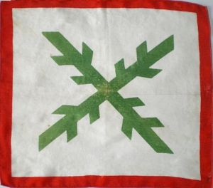 Pañuelo-bandera del Euzko Gudaroztea